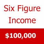 how to break 6 figures salary